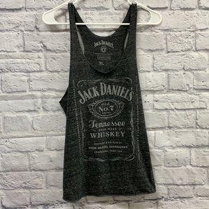Jack Daniels Tank Top Size XL heather grey